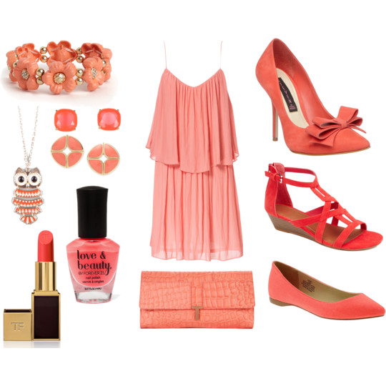 Fashion Color Collection {Coral}