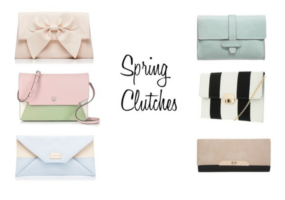 Spring Clutches Polyvore Set