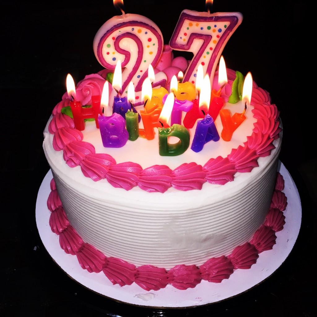 27th Birthday Cake | Dana Renee Style