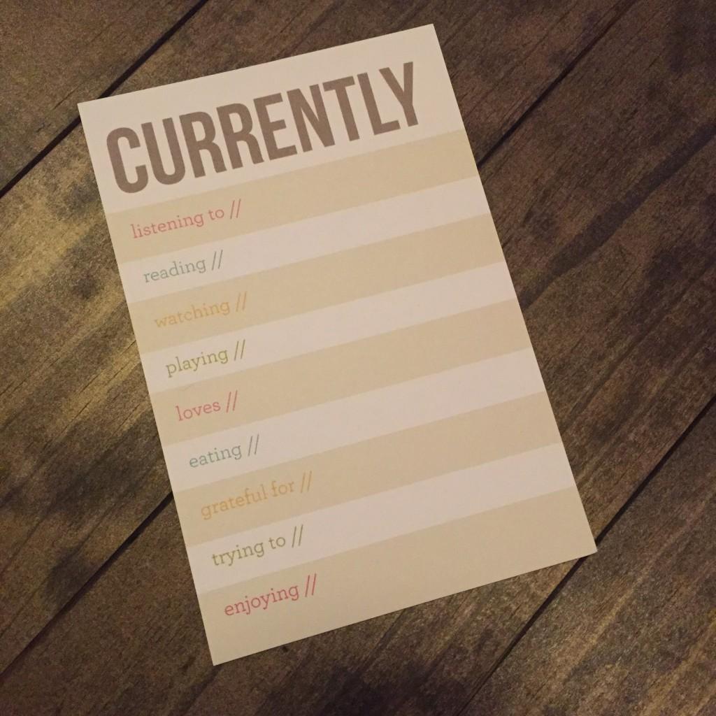 Currently Card | Dana Renee Style