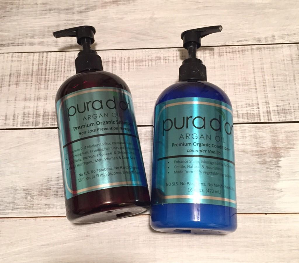 Pura dor Shampoo and Conditioner